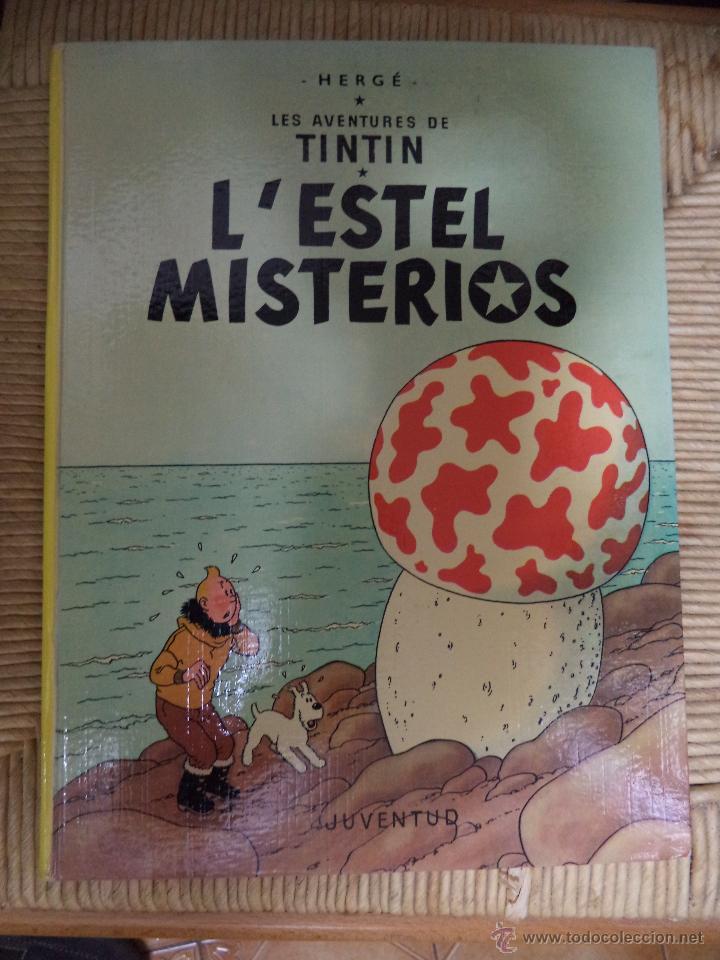 COMIC TINTIN..L'ESTEL MISTERIÓS. ( TEXTO CATALÁN ) (Tebeos y Comics - Juventud - Tintín)