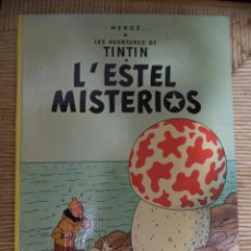 Cómics: COMIC TINTIN..L'ESTEL MISTERIÓS. ( TEXTO CATALÁN ). Lote 47022062