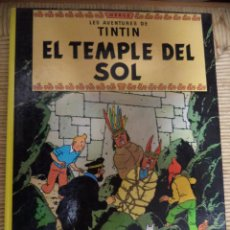 Cómics: COMIC TINTIN..EL TEMPLE DEL SOL ( TEXTO CATALÁN ). Lote 47022112