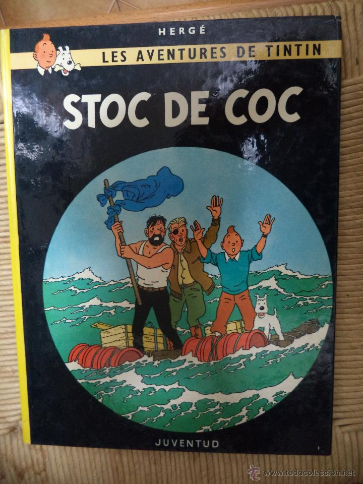 COMIC TINTIN..STOC DE COC ( TEXTO CATALÁN ) (Tebeos y Comics - Juventud - Tintín)