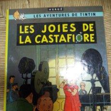 Cómics: COMIC TINTIN..LES JOIAS DE LA CASTAFIORE ( TEXTO CATALÁN ). Lote 47022177