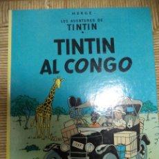 Cómics: COMIC TINTIN..TINTIN AL CONGO ( TEXTO CATALÁN ). Lote 47022217