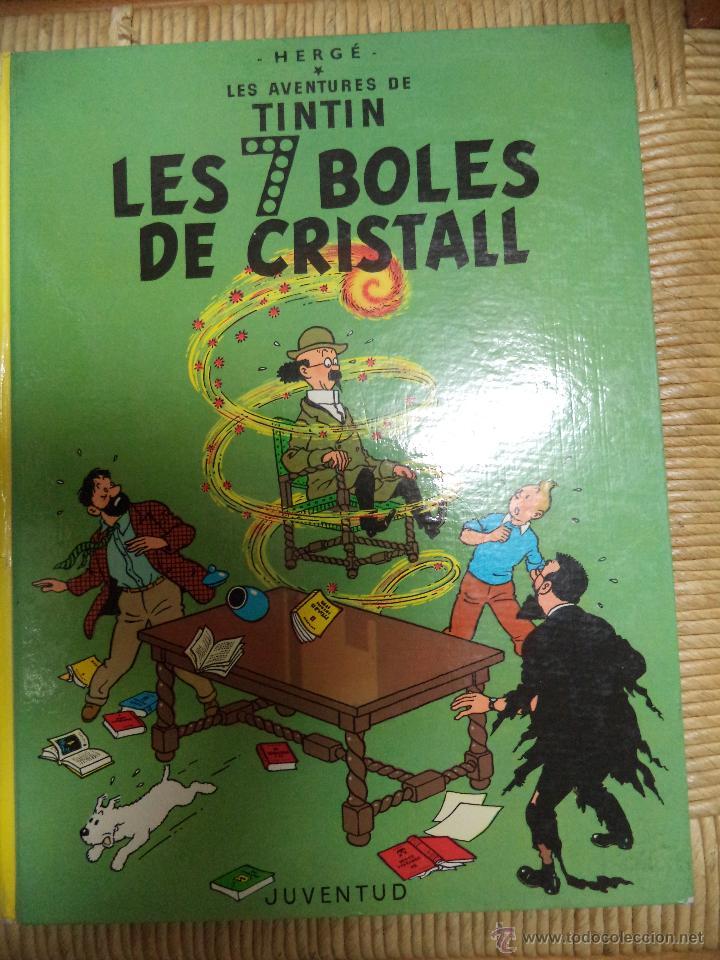 COMIC TINTIN..LES 7 BOLES DE CRISTALL ( TEXTO CATALÁN ) (Tebeos y Comics - Juventud - Tintín)