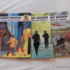 Cómics: HARRY DICKSON - COLECCION COMPLETA - 3 NUMEROS . - CATALA. Lote 47090366