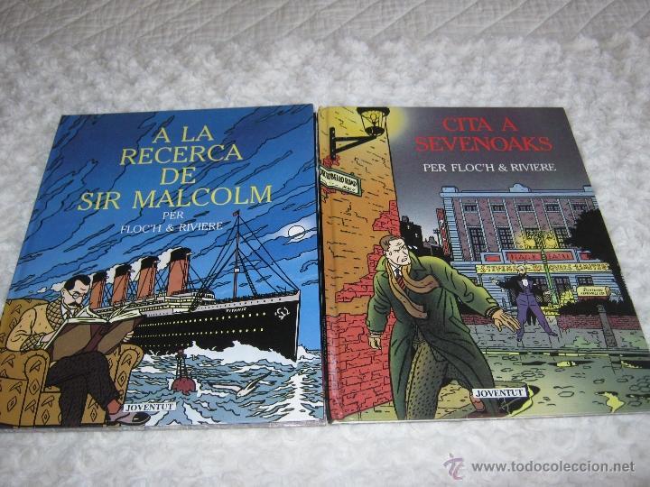 CITA A SEVENOAKS -A LA RECERCA DE SIR MALCOLM -COMPLETA - CATALA (Tebeos y Comics - Juventud - Otros)