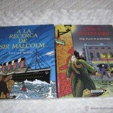 Cómics: CITA A SEVENOAKS -A LA RECERCA DE SIR MALCOLM -COMPLETA - CATALA. Lote 45309134
