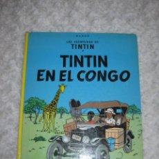 Cómics: LAS AVENTURAS DE TINTIN- TINTIN EN EL CONGO. Lote 47146707