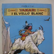 Comics: YAKARI - Nº 11 - YAKARI I EL VELLÓ BLANC - DERIB & JOB - EN CATALÁN - JOVENTUT - AÑO 1990.. Lote 47204997