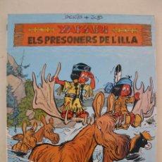 Cómics: YAKARI - Nº 9 - ELS PRESONERS DE L'ILLA - DERIB & JOB - EN CATALÁN - JOVENTUT - AÑO 1988.. Lote 47205122