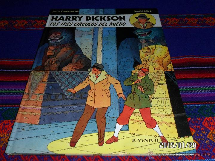 HARRY DICKSON Nº 3 LOS TRES CÍRCULOS DEL MIEDO. JUVENTUD 1991. BUEN ESTADO Y MUY DIFÍCIL!!!! (Tebeos y Comics - Juventud - Otros)