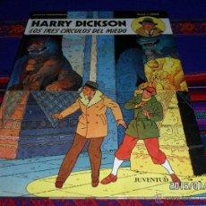 Cómics: HARRY DICKSON Nº 3 LOS TRES CÍRCULOS DEL MIEDO. JUVENTUD 1991. BUEN ESTADO Y MUY DIFÍCIL!!!!. Lote 47321907