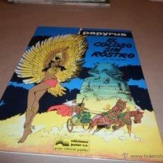 De Gieter, Papyrus, Ed. Junior. El coloso sin rostro, 3