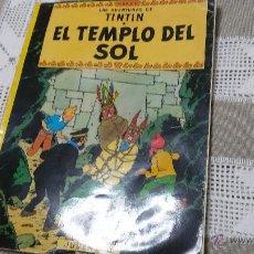 Cómics: AVENTURAS DE TINTÍN-EL TEMPLO DEL SOL-1983. Lote 47384557