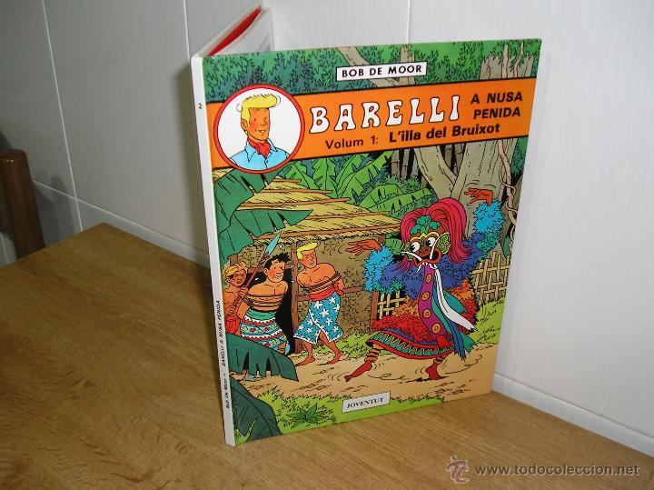 BOB DE MOOR - BARELLI A NUSA PENIDA, L´ILLA DEL BRUIXOT DE EDITORIAL JOVENTUT 1ª EDICION 1990 (Tebeos y Comics - Juventud - Barelli)