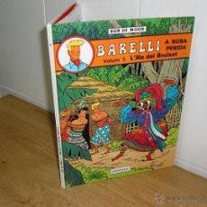 Cómics: BOB DE MOOR - BARELLI A NUSA PENIDA, L´ILLA DEL BRUIXOT DE EDITORIAL JOVENTUT 1ª EDICION 1990. Lote 47440895