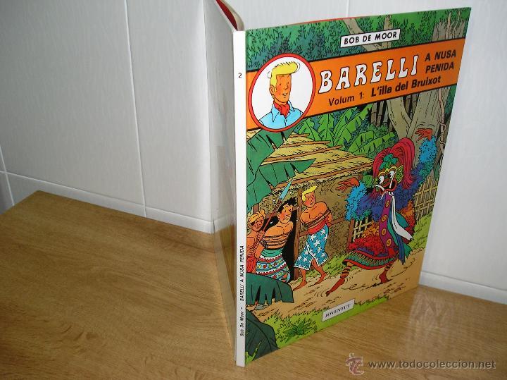 Cómics: BOB DE MOOR - BARELLI A NUSA PENIDA, L´ILLA DEL BRUIXOT DE EDITORIAL JOVENTUT 1ª EDICION 1990 - Foto 2 - 47440895