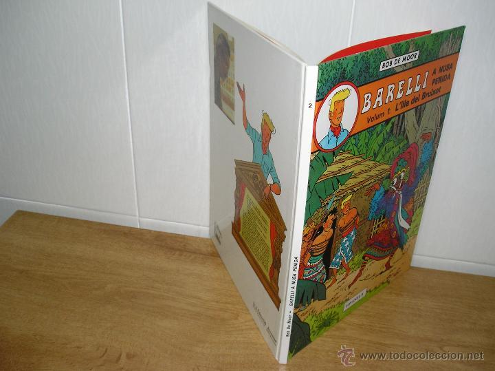 Cómics: BOB DE MOOR - BARELLI A NUSA PENIDA, L´ILLA DEL BRUIXOT DE EDITORIAL JOVENTUT 1ª EDICION 1990 - Foto 3 - 47440895
