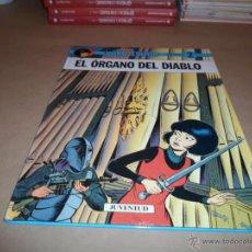 Cómics: YOKO TSUNO, ROGER LELOUP, EL ORGANO DE LA MONTAÑA, Nº 2, JUVENTUD. 1979. Lote 47534801