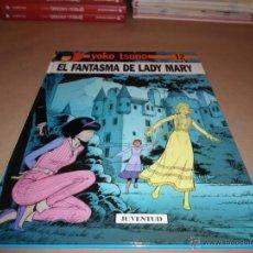 Cómics: YOKO TSUNO, ROGER LELOUP, EL FANTASMA DE LADY MARY, Nº 12, JUVENTUD. Lote 47535618