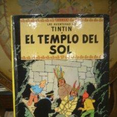 Cómics: LAS AVENTURAS DE TINTIN: EL TEMPLO DEL SOL, DE HERGE. EDITORIAL JUVENTUD 1.984.. Lote 47635479