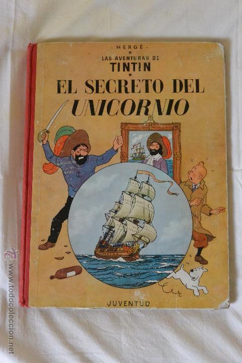 TINTIN SECRETO UNICORNIO 2ª EDICIÓN (Tebeos y Comics - Juventud - Tintín)