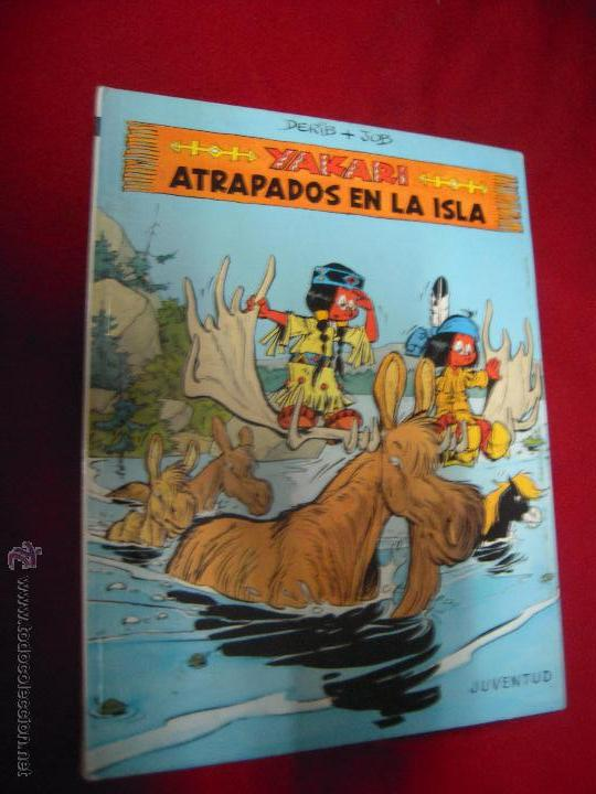 ATRAPADOS EN LA ISLA - YAKARI 9 - DERIB & JOB - CARTONE (Tebeos y Comics - Juventud - Yakary)