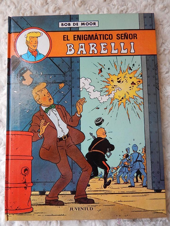 BARELLI N. 1 - EL ENIGMATICO SEÑOR BARELLI (Tebeos y Comics - Juventud - Barelli)