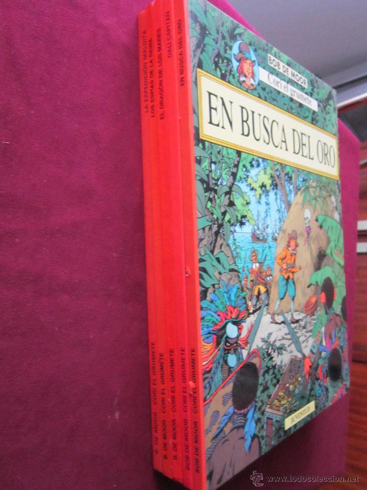 Cómics: CORI EL GRUMETE. 5 TOMOS. COMPLETA. BOB DE MOOR. Ed. JUVENTUD tebeni MBE - Foto 2 - 48020346