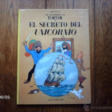 Cómics: TINTIN - EL SECRETO DEL UNICORNIO . Lote 48108365