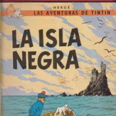 Cómics: LAS AVENTURAS DE TINTIN-LA ISLA NEGRA-HERGE-EDITORIAL JUVENTUD-6ªEDICION-1979-BARCELONA*. Lote 48189313