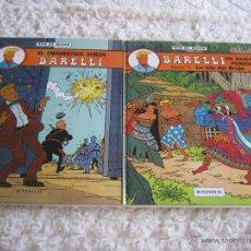 Cómics: BARELLI - EL ENIGMATICO SEÑOR BARELLI N. 1 - BARELLI EN NUSA PENIDA TOMO -1 LA ISLA DEL BRUJO - N. 2. Lote 48298741