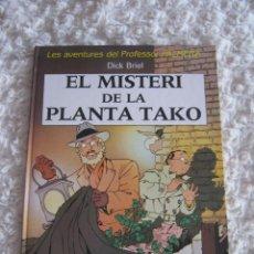Cómics: LES AVENTURES DEL PROFESSOR PALMERA - EL MISTERI DE LA PLANTA TAKO - CATALA. Lote 48386346