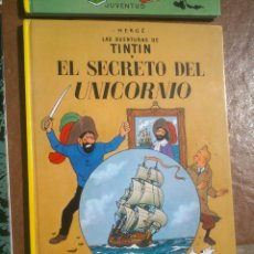 Cómics: LAS AVENTURAS DE TINTÍN EL SECRETO DEL UNICORNIO HERGÉ EDITORIAL JUVENTUD 1999. Lote 48478823