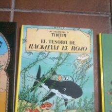 Cómics: LAS AVENTURAS DE TINTÍN EN EL TESORO DE RACKHAM EL ROJO HERGÉ EDITORIAL JUVENTUD 1999. Lote 48478879
