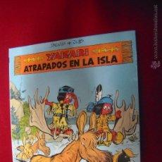 Cómics: ATRAPADOS EN LA ISLA - YAKARY 9 - DERIB & JOB - CARTONE. Lote 48528358