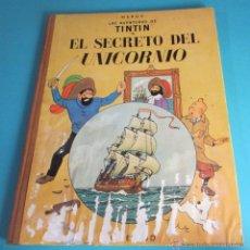 Cómics: EL SECRETO DEL UNICORNIO. HERGÉ. LAS AVENTURAS DE TINTIN. 4ª EDICIÓN 1968. Lote 48585160
