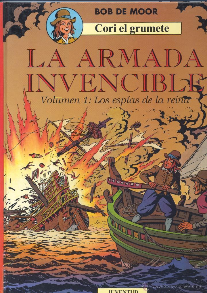 CORI EL GRUMETE Nº2. EDITORIAL JUVENTUD, 1993. DIBUJOS DE BOB DE MOOR (Tebeos y Comics - Juventud - Cori el Grumete)