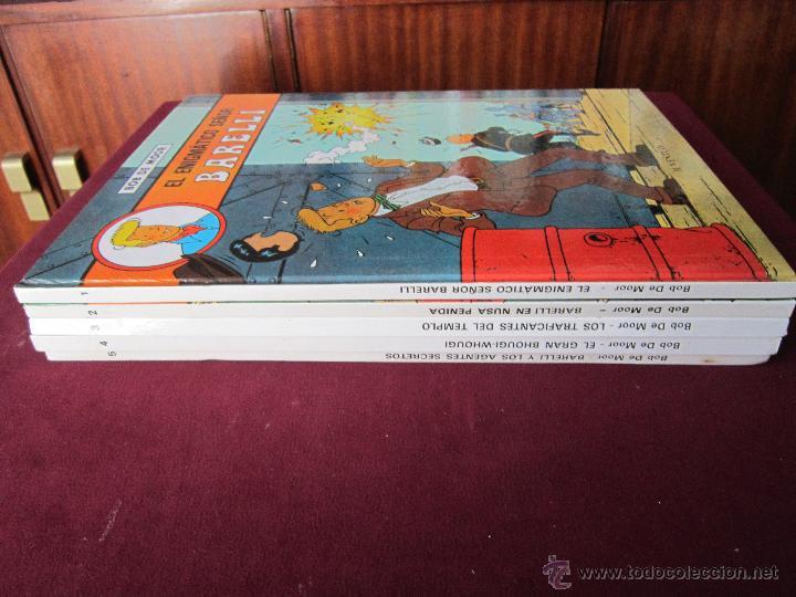 Cómics: Barelli. Colección Completa 5 tomos. Bob de Mor. Editorial Juventud 1990-1992 tebeni Como nuevos - Foto 2 - 48700354