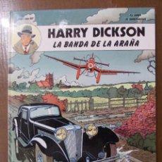 Cómics: HARRY DICKSON-LA BANDA DE LA ARAÑA-ED.JUVENTUD-TAPA DURA--1989-NUEVO DE LIBRERIA. Lote 93331945