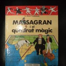 Cómics: MASSAGRAN I EL QUADRAT MAGIC. Lote 48904423