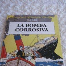 Cómics: LES AVENTURES DEL PROFESSOR PALMERA - LA BOMBA CORROSIVA - CATALA. Lote 48993315