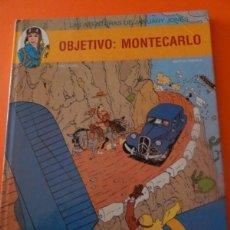 Cómics: LAS AVENTURAS DE JANUARY JONES - OBJETIVO MONTECARLO N. 1. Lote 49026994