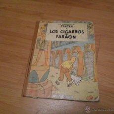 Cómics: HERGE, TINTIN. LOS CIGARROS DEL FARAON, JUVENTUD, 2 ED. 1965. Lote 49134276