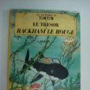 Cómics: TINTIN. LE TRESOR DE RACKHAM LE ROUGE. EDICIONES CASTERMAN. 1966. Lote 49183563
