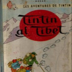 Cómics: 2 COMICS DE TINTIN EN CATALAN: TINTIN AL TIBET (PRIMERA EDICIÓ) + EL CEPTRE D´OTTOKAR (SEGONA EDICIÓ. Lote 49250995