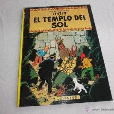 Cómics: LAS AVENTURAS DE TINTIN, EL TEMPLO DEL SOL. EDITORIAL JUVENTUD, 1999. HERGÉ. Lote 49292857