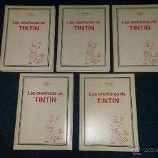 Comics - TINTIN COLECCION COMPLETA 5 TOMOS JUVENTUD STUDIO CREDILIBRO 1991 GUAFLEX - 49370734