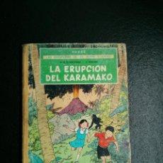 Cómics: AVENTURAS DE JO, ZETTE Y JOCKO - LA ERUPCIÓN DEL KARAMAKO - HERGÉ - JUVENTUD 1ª PRIMERA EDICION 1971. Lote 117608295