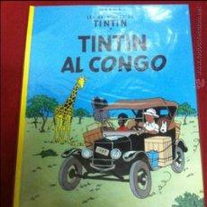 Cómics: JUVENTUD - TINTIN - TINTIN AL CONGO QUINZENA EDICIO 2005. Lote 49521160
