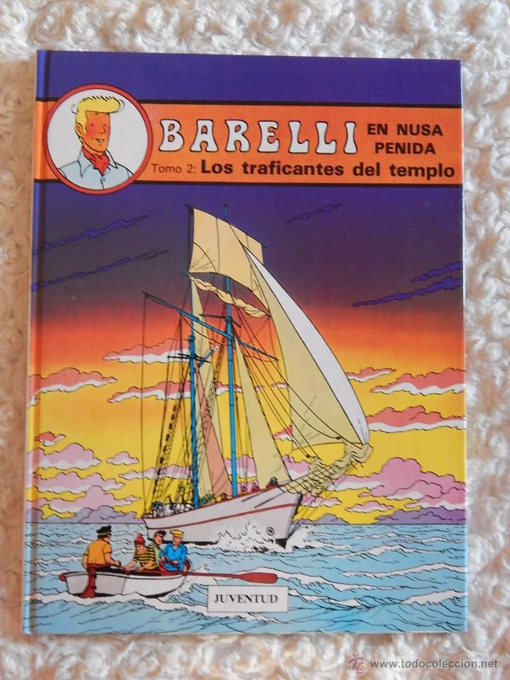 BARELLI EN NUSA PENIDA TOMO . 2 LOS TRAFICANTES DEL TEMPLO - N.3 (Tebeos y Comics - Juventud - Barelli)